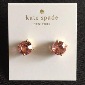Light pink {Kate Spade} earrings  ♠️
